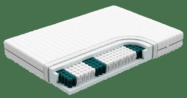 Droomidee koudschuim pocketvering matras 140x200